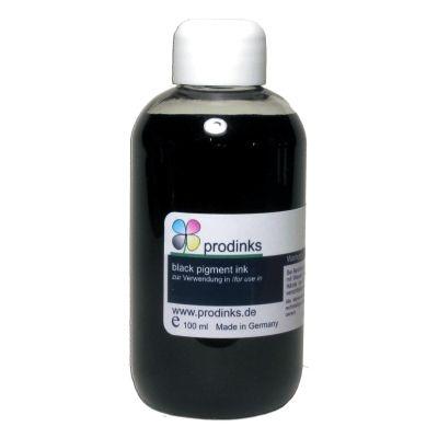 Nachfülltinte für HP, pigmentiert, black