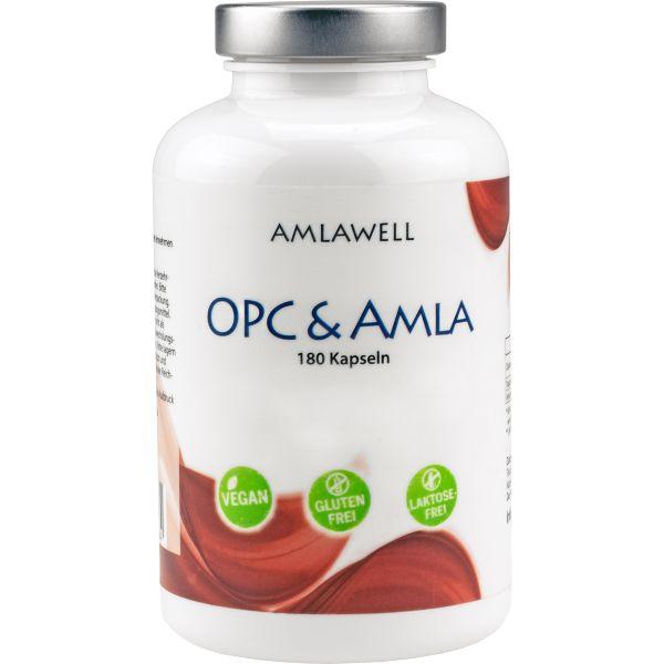 Amlawell OPC & AMLA / 180 Kapseln