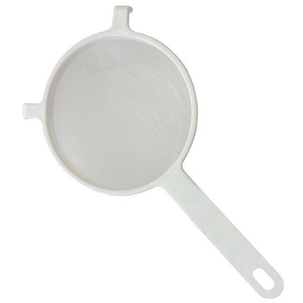 Nylonsieb 13cm Durchmesser, weiß