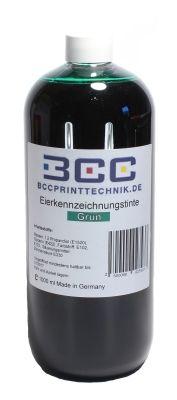 Eierkennzeichnungstinte, grün, 1000 ml