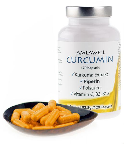 Curcumin 120 Kapseln / 82,8g