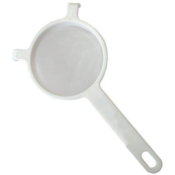 Nylonsieb 10cm Durchmesser, weiß