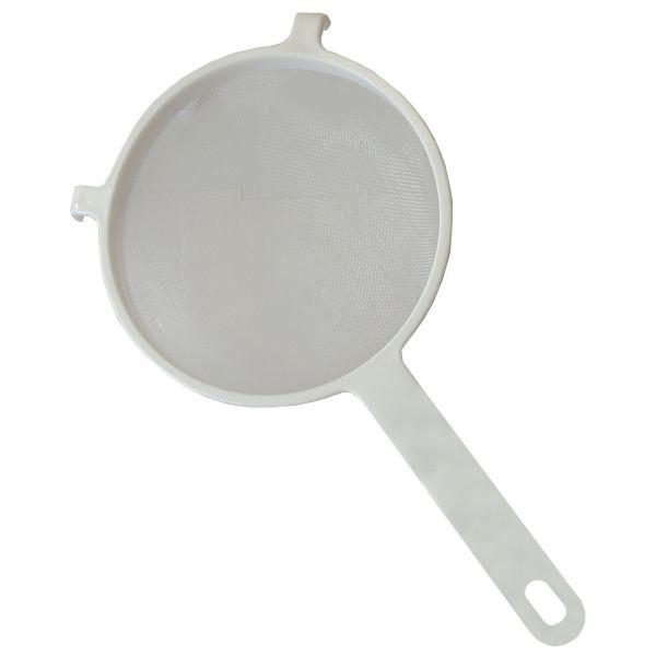 Nylonsieb 17,8cm Durchmesser, weiß