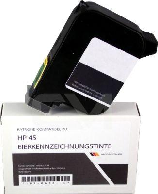 Eierkennzeichnungspatrone, schwarz, ersetzt Nr.45